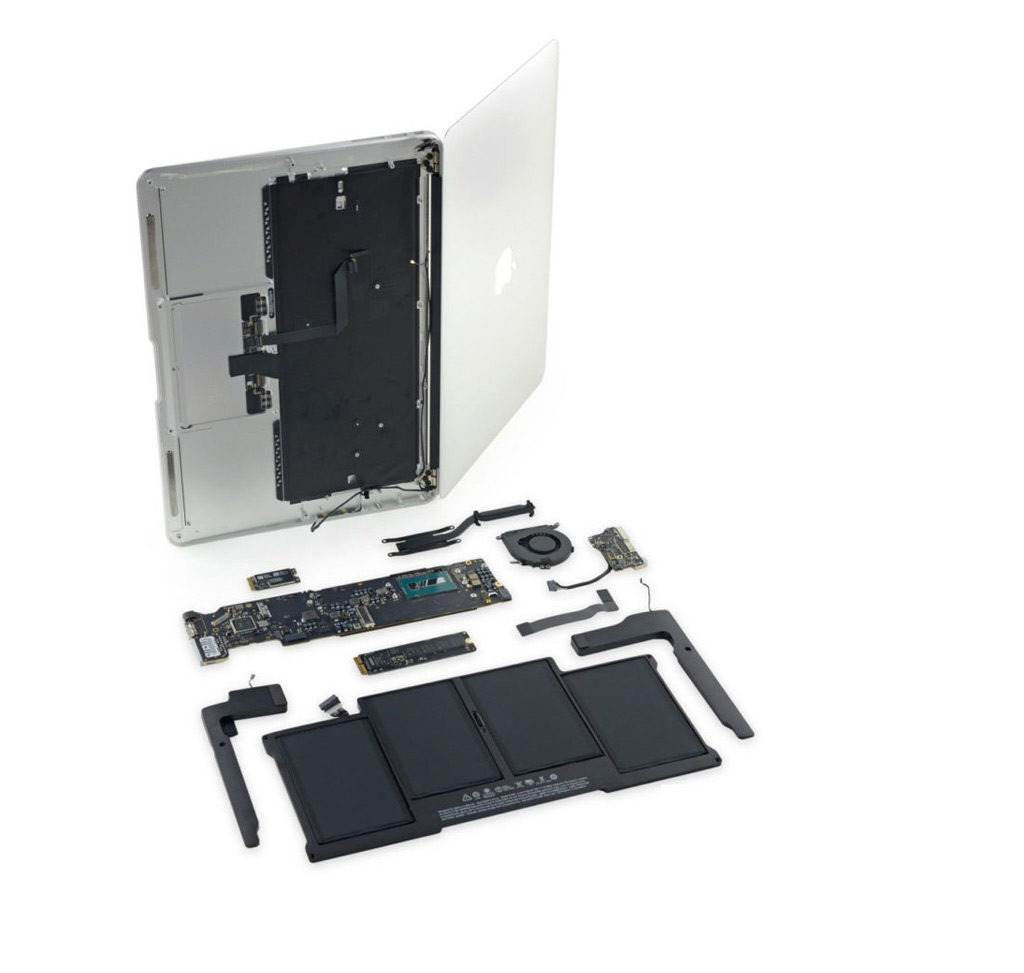 zamena display macbook pro 15 1024x973 Ремонт Macbook Pro 17